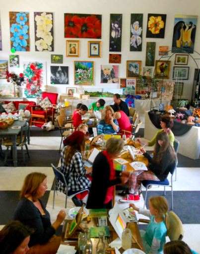 Learn to Paint with Pammy - Painting Classes for All Ages.