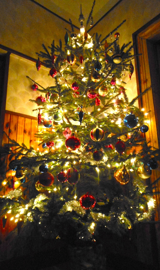 Traditional Christmas trees are not decorated until Christmas eve in Eastern Europe.