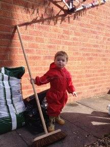 alfie gardening