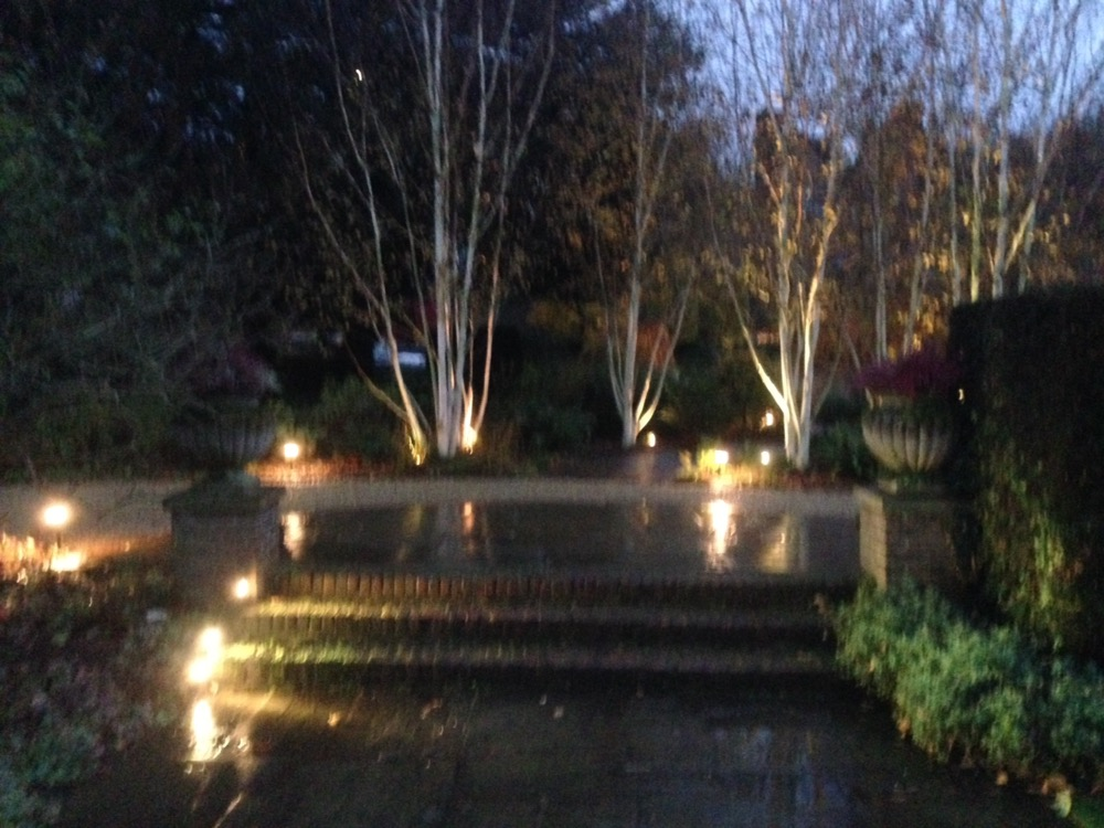 Garden Lighting Provides Night-Time Treat for Gardeners.